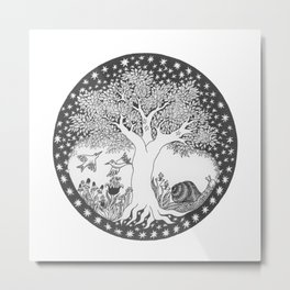 Startree: In the Meadow Metal Print