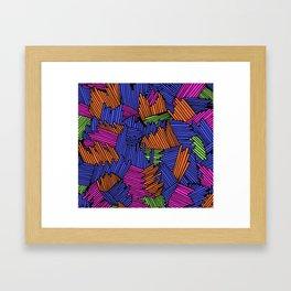 Happy Abstract Nr:05 Framed Art Print