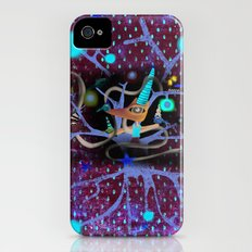 Delicious friendship birds and fox Slim Case iPhone (4, 4s)