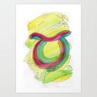 Taurus Flow Art Print