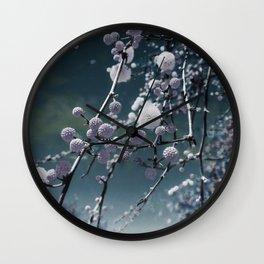 Round Buds Wall Clock