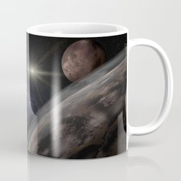 New Horizons space probe - Pluto flyby in action Coffee Mug