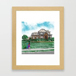 The Browns Framed Art Print