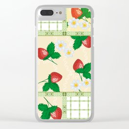 Colorful summer pacifrc. Clear iPhone Case