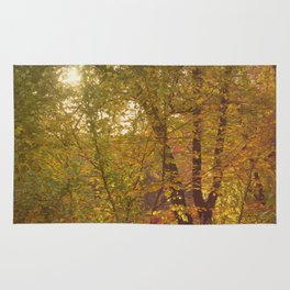 Fall Forest Rug