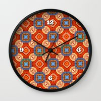 persian Wall Clocks featuring Persian Parlor by Peter Gross