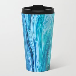 436 - Abstract water design Travel Mug