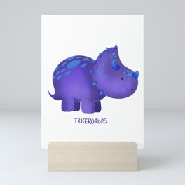 Tricerotops Mini Art Print