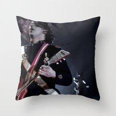 Jack White Airline Satan Throw Pillow