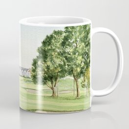 Southern Hills Golf Course 18th Hole Coffee Mug
