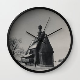 My Father's Travels II Wall Clock