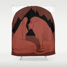 Leo (Jul 23 - Aug 23) Shower Curtain