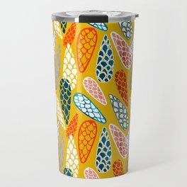 Colored Cone pattern Travel Mug