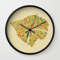 london Wall Clocks featuring London by Nicksman