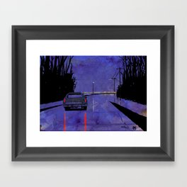 Nightscape 02 Framed Art Print