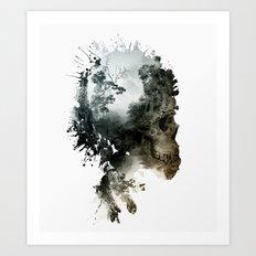Skull - Metamorphosis Art Print