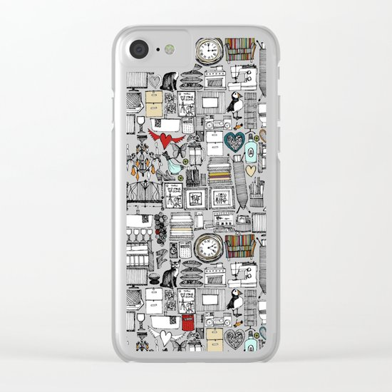 love and stuff Clear iPhone Case