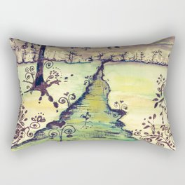 Cold Winter Vintage Rectangular Pillow