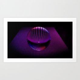 Glass Ball Art Print