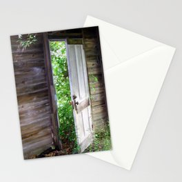 Between Worlds, urban exploration Stationery Cards