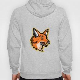 Maned Wolf Mascot Hoody