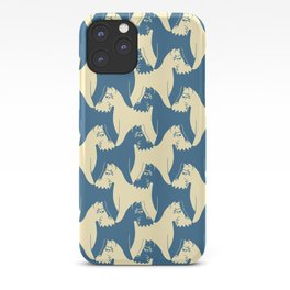 Dog Pattern | Schnauzer | M. C. Escher Inspired Artwork by Tessellation Art iPhone Case