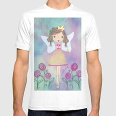 Princess Fairy White Mens Fitted Tee MEDIUM