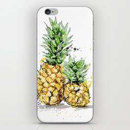 Pineapples iPhone Skin