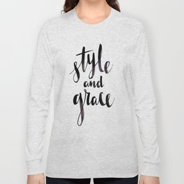 Style and Grace Long Sleeve T-shirt