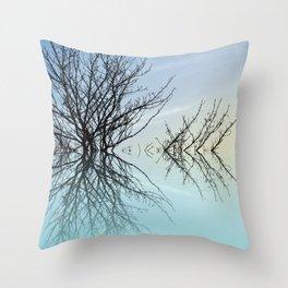 Twiglets Throw Pillow