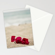 Beach Flowers Stationery Cards