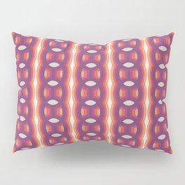 Retro-Delight - Continuous Chains (Oval) - Vapor Pillow Sham