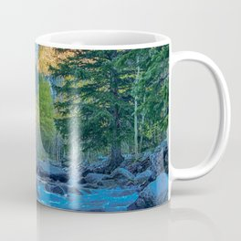River Bed Sunrise // Long Exposure Landscape Photograph in the Colorado Rocky Mountains Coffee Mug