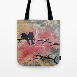 Together - Winter Birds Tote Bag
