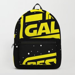 Best dad in the galaxy Backpack