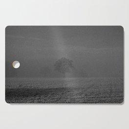Foggy tree Cutting Board