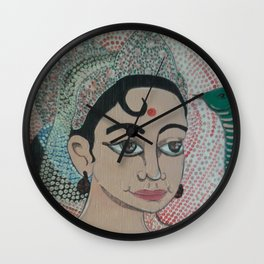 PARVATI-Goddess of Power Wall Clock