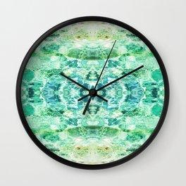 117 - water reflections Wall Clock