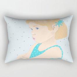 it's winter baby Rectangular Pillow