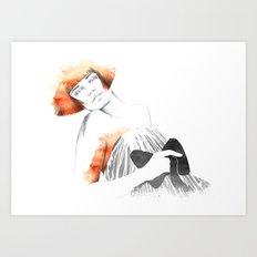 Sophie Art Print