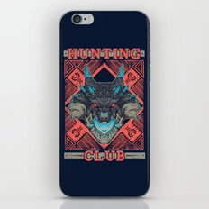 Hunting Club: Abyssal Lagiacrus iPhone & iPod Skin
