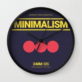 MINIMALISM #8 Wall Clock