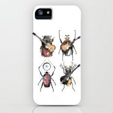 Meet the Beetles (white option) iPhone (5, 5s) Slim Case