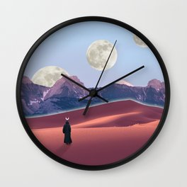 The cosmic nomad Wall Clock