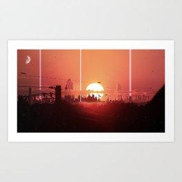 """The Future of Humanity"" Series: Volume 1 ""City"" Art Print"