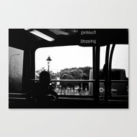dublin Canvas Prints featuring Dublin by Brugha