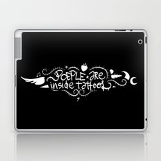 People are inside tattoos - Emilie Record Laptop & iPad Skin