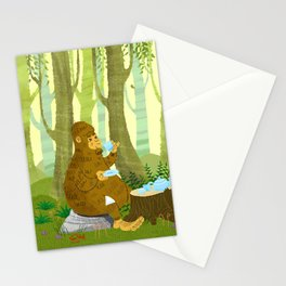 Bigfoot Busted Stationery Cards