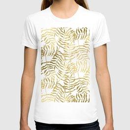 Gold Leaves 2 T-shirt