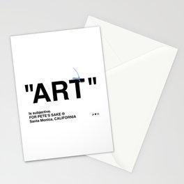 """ART"" Stationery Cards"